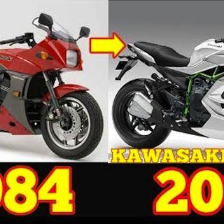 THE EVOLUTION OF KAWASAKI NINJA 1984-2019