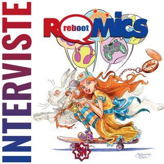 Intervista al fumettista Marco Gervasio - Romics 2021