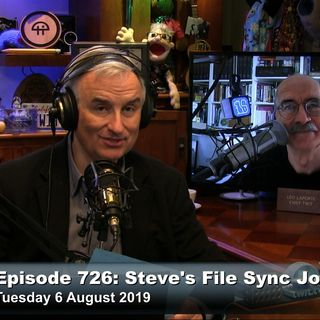 Security Now 726: Steve's File Sync Journey