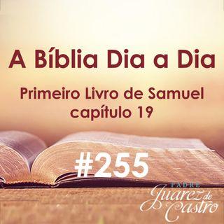Curso Bíblico 255 - Primeiro Livro de Samuel 19 - Fuga de Davi, Micol salva Davi, Davi com Samuel - Padre Juarez de Castro
