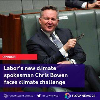 Chris Bowen's Climate conundrum