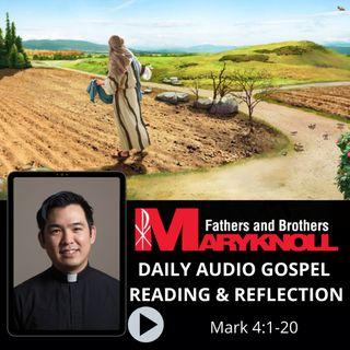 Mark 4:1-20, Daily Gospel Reading and Reflection