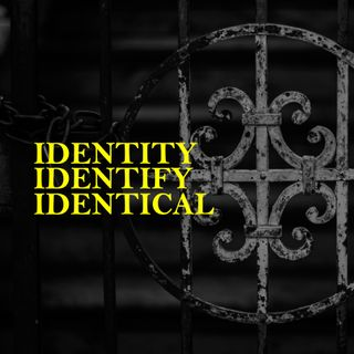 Identity, Identify, Identical - Pr Isaiah Fadzlin