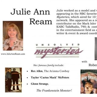 "Episode 56 With Special Guest Julie Ream from ""Unsolved Mysteries"""