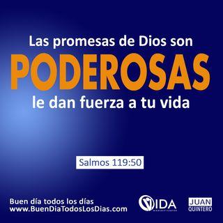 BUEN DÍA – BENDECIDOS POR LAS PROMESAS DE DIOS