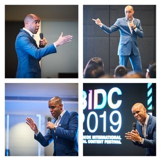 Arsenio's Presentation at The Bangkok International Digital Content Festival
