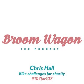 Chris Hall: Bike challenges for charity #107for107