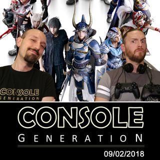 Dissidia Final Fantasy NT, Kazunori Yamauchi e altro - CG Live 09/02/2018