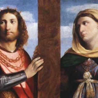 123 - Costantino ed Elena, tra libertà di culto, regalità e santità