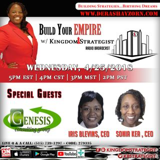 Build Your Empire welcomes Genesis Consulting Group, LLC, l