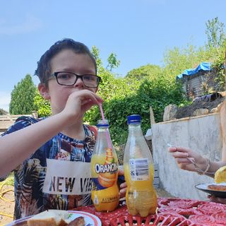 Orangina And Sausages With Dylan And Mia E506