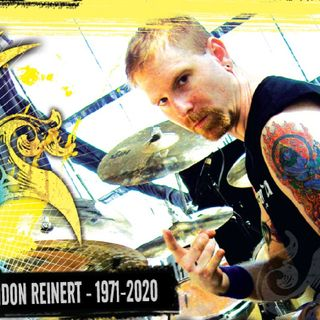 Legendary Death/Cynic Drummer and Dear Friend Sean Reinert Passes Away At Only 48