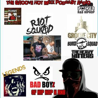 THE GROOVE HOT MIXX PODCAST RADIO WIT THE ROIT SQUAD MUCH LUV TO SHOCK G