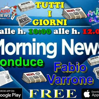Ciadd News Morning News 30 Settembre 2016