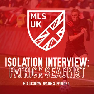 S3 Episode 5: Isolation Interview: Patrick Seagrist