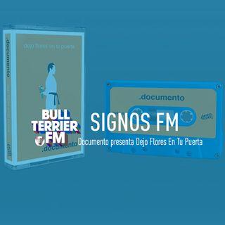 SignosFM con Documento presentando Dejo Flores En Tu Puerta.
