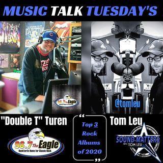 (Music Talk Tuesday): 2020 Top 3 Rock Albums