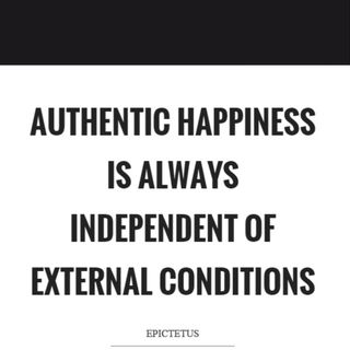 Are you happy or authentically happy? Ep. 237