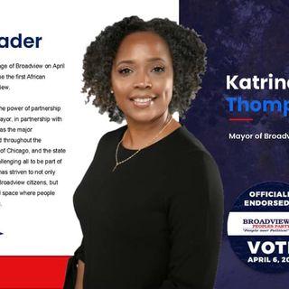 Makin Waves With Ms. Darci- Guest Mayor Katrina Thompson
