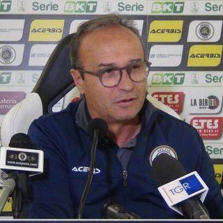 Mister Marino nel post di Foggia - Spezia