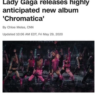 Lady Gaga- Chromatica Hits!