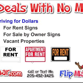 Can't Afford Bandit Signs or Postcards Wholesale Houses Using Free Methods to Find Deals #flipman