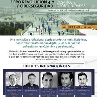 Invitados al Foro Revolución 4.0 y Ciberseguridad: retos y oportunidades