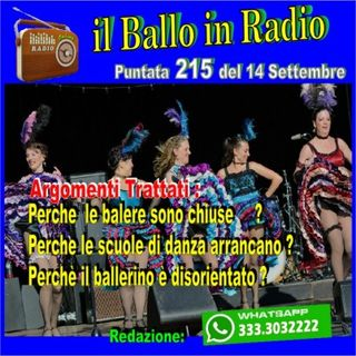 Il Ballo in Radio di Tony Mantineo n° 215
