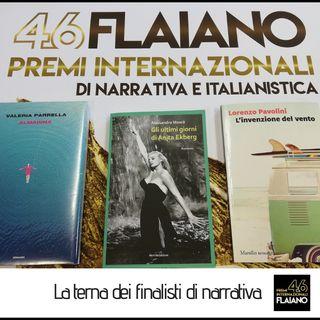 Premio Flaiano per la narrativa. I finalisti