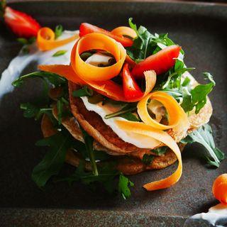 Pancakes gluten free di farina di lenticchie e amaranto