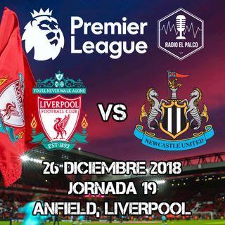 Liverpool vs Newcastle United en VIVO
