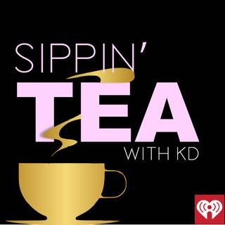 KD Sips Amazing TEA with KISS FM Promotions Director Jason Brown