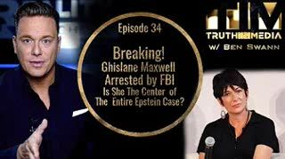 Breaking  Ghislane Maxwell Arrested by FBI!  Is She The Center of The Entire Epstein Case