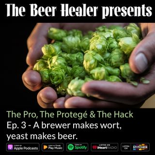 Ep. 87 - The Pro, The Protege & The Hack - A Brewer makes Wort, Yeast Makes Beer. With Dave Padden (Akasha) & Ben Miller (From Ben).