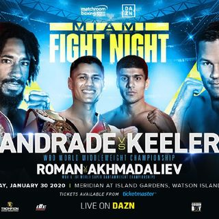 Preview Of A Huge DaznUSA Boxing Card Headlined By Demetrius Andrade-Luke Keeler For The WBO Middleweight Title Plus2 More World Titlefights