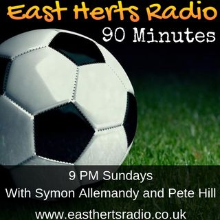 90 Minutes LIVE 08/12/19 - Local Non-League Football Show