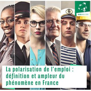 #02 – La polarisation de l'emploi : définition et ampleur du phénomène en France