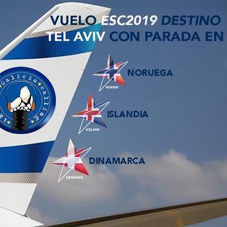 T.I.G.C.- Embarque del vuelo ESC2019 con paradas en Noruega, Islandia y Dinamarca (2x08)