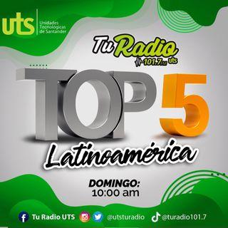 Top 5 Latinoamérica 11 de Octubre 2020