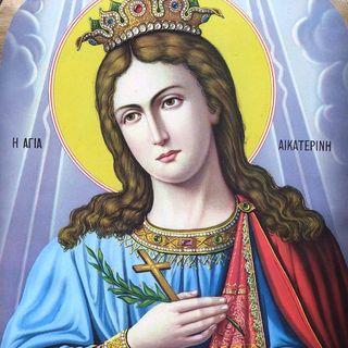 Santa Caterina d'Alessandria, martire e sposa di Cristo