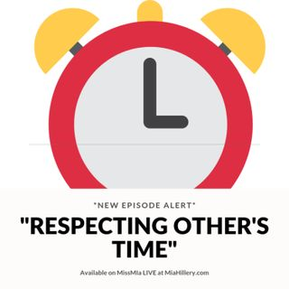 Respecting Other's Time