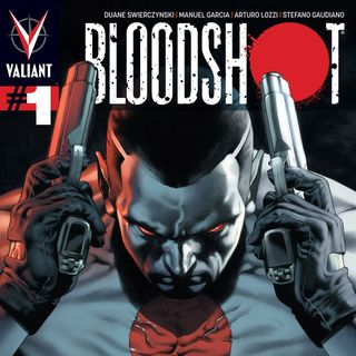 Source Material #271 - Bloodshot 1-4 (Valiant, 2012)