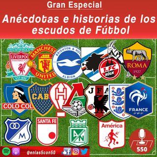 Anécdotas e Historias de los escudos de futbol