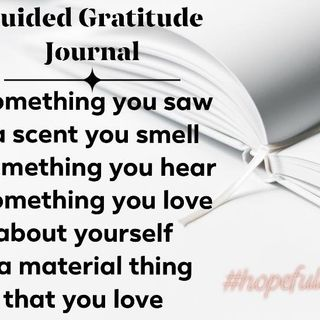 Get your gratitude journal started! Ep 112