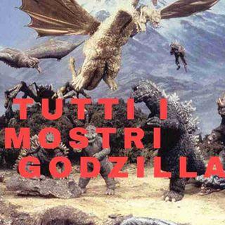 Tutti i Mostri dei Film di Godzilla