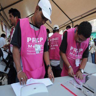 INE anuncia tres simulacros del PREP para elecciones en Puebla