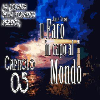 Audiolibro il Faro in capo al Mondo - Jules Verne - Capitolo 05