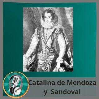Elsa con Catalina de Mendoza