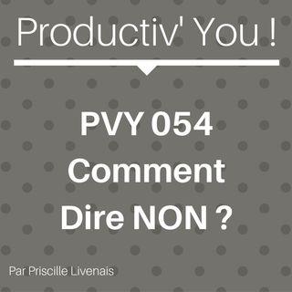 PVY 054 COMMENT DIRE NON