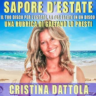 37)  Cristina DATTOLA: le estati degli anni delle immense compagnie